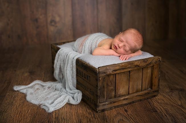 Baby Freddie's Newborn Shoot