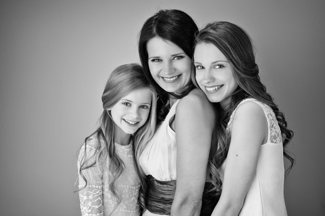 Sharon, Daisy and Poppy's Mother & Daughter Beauty Shoot