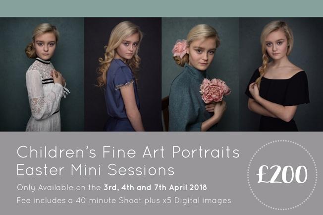 Easter Mini Sessions – Children's Fine Art Portraits